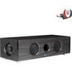 GOgroove - BlueSYNC XPL Bluetooth Home Entertainment Speaker - Works with Epson VS230 3LCD & More Projectors - Black