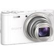 Sony - Cyber-shot 18.2 Megapixel Compact Camera - 4.30 mm-86 mm Lens - White
