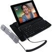CTA - Bluetooth Keyboard with Telephone Handset for iPad & iPhone - Black