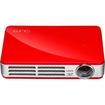 Vivitek - Qumi Q5 3D Ready LED Pocket Projector, 720p, HDTV, 16:10 - Red