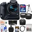 Samsung - Bundle WB2200F Smart Wi-Fi Digital Camera - Black