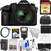 Panasonic - Lumix DMC-FZ1000 4K QFHD Wi-Fi Digital Camera w/64GB Card+Case+Flash+Batt./Charger+Tripod+Filters - Black