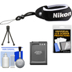 Nikon - Coolpix Floating Wrist Strap for S31 AW100 AW110 with EN-EL12 Battery + Accessory Kit