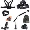 EEEKit - 8in1 Accessories Kit Telescopic Monopod+Chest Strap For GoPro Hero 4 Hero 3+ 3 2 1