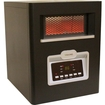 Versonel - Portable Infrared Quartz Heater - 6 Elements - Black
