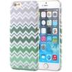 Fosmon - MATT-DESIGN iPhone Case - Mint ZigZag Chevron