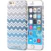 Fosmon - MATT-DESIGN iPhone Case - Blue ZigZag Chevron
