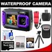 Coleman - Logan Bundle Duo 2V9WP Dual Screen Shock & Waterproof Digital Camera - Purple