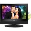 """Naxa - 13.3"""" TV/DVD Combo - HDTV - 16:9 - 1366 x 768 - 720p - Black"""
