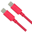 RND Power Solutions - 2x (Bundle) 6FT/1.8M Lightning Charge and Sync Cables - Pink