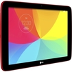 "LG - G Pad 16 GB Tablet - 10.1"" - In-plane Switching (IPS) Technology - Wireless LAN - Qualcomm Snapdragon 400 1.20 GHz - Red"