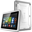 SUP - Unicorn Beetle PRO Full body Rugged Hybrid Protective Case w/ Screen Protector for Kindle Fire HD6 - White