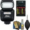 Nikon - Bundle SB-500 AF Speedlight Flash & LED Video Light - Black