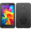 "BasAcc - Symbiosis Hybrid Stand Silicone/PC Case For Samsung Galaxy Tab 4 7.0"" (LTE version)/7"" 3G/7"" Wifi - Black Symbiosis"