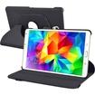 "eForCity - Swivel Stand Leather Case For Samsung Galaxy Tab Pro 8.4 (LTE)/8.4 3G/8.4 Wifi Galaxy Tab S 8.4"" - Black"