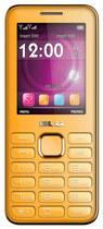 Blu - Diva II Cell Phone (Unlocked) - Orange
