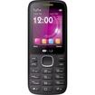 BLU - Zoey 2.4 Cellular Phone - 2G - Bar, - Black