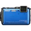 Nikon - Coolpix AW120 16.0-Megapixel Waterproof Digital Camera - Black