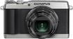 Olympus - Stylus SH-1 16.0-Megapixel Digital Camera - Silver
