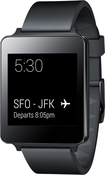 LG - G Watch for Select Android Devices - Titan Black