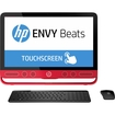 "HP - ENVY Beats 23"" Touch-Screen All-In-One - Intel Core i5 - 8GB Memory - 1TB Hard Drive - Black/Red"