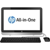"HP - 21.5"" Touch-Screen All-In-One - AMD A4-Series - 4GB Memory - 1TB Hard Drive - Black/Silver"