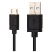 RND Power Solutions - Micro USB 3.3FT/1M Charge and Sync Cable - Black