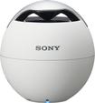 Sony - Speaker System - 1.2 W RMS - Battery Rechargeable - Wireless Speaker(s) - White