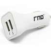 RND Power Solutions - Car Charger 2 USB ports (3.4A) - White