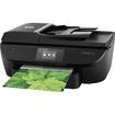 HP - Officejet 5740 Wireless e-All-in-One Printer - Black