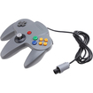 Image - Gaming Game Controller for Nintendo 64 N64 - Gray