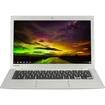 Toshiba - 13.3 Chromebook - Intel Celeron - 2GB Memory - 16GB Solid State Drive - Silver