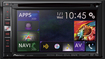 "Pioneer - 6.1"" - Built-In GPS - CD/DVD - Built-In Bluetooth - Built-In HD Radio - In-Dash Receiver - Black/Gray"