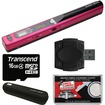 VuPoint Solutions - Magic Wand Portable Scanner (Pink) with 16GB Card + Reader + Case + Cloth - Pink