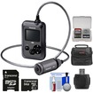 Panasonic - HX-A500H 4K HD 25p POV Wearable Waterproof Video Camera Camcorder with 64GB Card + Case + Kit - Black