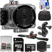 Intova - Nova HD Waterproof Sports Video Camera Camcorder with 32GB Card + ATV/Bike Handlebar