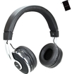 Accessory Genie - BluSOUND Wireless Bluetooth On-Ear Headphones with Built-In Microphone for Smartphones and More - Black