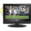 Naxa - 13.3 Widescreen HD LED Television with Built-In Digital TV Tuner & DVD Player - Black