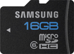 Samsung - High Speed 16GB microSDHC Class 6 Memory Card