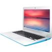 "Asus - 13.3"" Chromebook - Intel Celeron - 2GB Memory - 16GB eMMC Flash Memory - Light Blue"