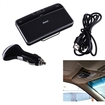 AGPtek - 4.0 Bluetooth A2DP Car Kit Hands-Free Speakerphone Clip Music Receiver for MP3 Laptop PC Tablet