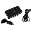 Image - 4.0 Bluetooth A2DP Car Kit Hands-Free Vehicle Speakerphone with Clip Music Receiver for MP3 Player - Black