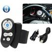 AGPtek - Steering Wheel Hands-free Wireless Bluetooth Car Kit Speaker Phone for iPhone 6 Plus/6/5S/5 Samsung