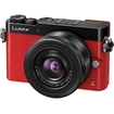 Panasonic - Lumix DMC-GM5 Micro Four Thirds Wi-Fi Digital Camera + 12-32mm Lens - Red