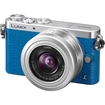 Panasonic - Lumix DMC-GM1 Micro Four Thirds Digital Camera + 12-32mm Lens - Blue