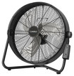 "Lasko - 20"" High Velocity Fan with Remote Control - Black"