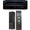 Onkyo - TX-NR838 7.2 Channel Receiver Plus A Pair of JBL Studio 280 3-Way Floorstanding Loudspeakers - Black