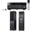 Yamaha - RX-A740 7.2 Channel Receiver Plus A Pair of JBL Studio 270 3-Way Floorstanding Loudspeakers - Black