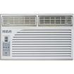 RCA - 6000 BTU Window Electronic Air Conditioner & Remote Control - Ivory