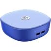 HP - Stream Mini 200-000 Desktop Computer - Intel Celeron 2957U 1.40 GHz - Mini-tower - Blue